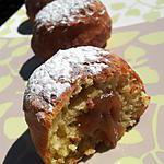 recette Beignets fourré à la créme de marron