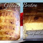 recette Le traditionnel Gâteau Breton