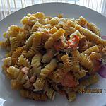 recette Gratin de pâtes au saumon frais
