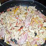 recette poulet bacon