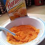 recette Purée de carotte et floraline*Pour Bébé*
