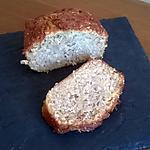 recette CAKE POMMES - NOIX de COCO