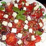 recette Salade de tomate a la féta