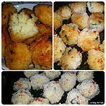 recette Croquettes de riz aux fromages