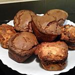 recette MINI GATEAUX CHOCO-COCO