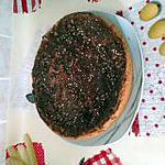 recette fondant chocolat dain, insert praliné