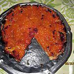 recette étalage d'abricots sur pâte brisée amandine