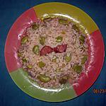 recette Riz de fèves et chorizo