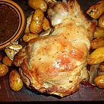 recette Epaule d agneau rotie pommes de terre de noirmoutier