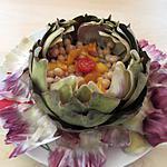 recette Salade d'artichaut aux pois chiches (les foodies dans mon assiette 1)