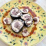 recette Maki de Poulet facon bourguignon  (revisité pour les foodies dans mon assiette de Nadc)
