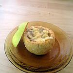 recette pommes a la creme de mamiloula inversées(pour les foodies dans ma cuisine)