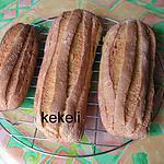 recette Le pain à la farine de maïs