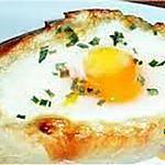 recette Oeuf cocotte dans son pain