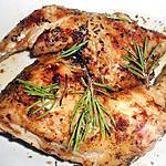 recette CUISSES DE POULET GRILLEES A L'ORIGAN ET ROMARIN SAUVAGES
