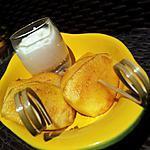 recette Brochettes de pommes fondantes sauce mascarpone