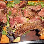 recette Basse cote avec os grillées aux herbes de provence