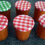 recette Marmelade d'abricots à la vanille