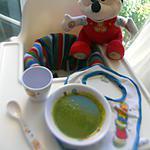 recette Purée soupe bébé aux épinards