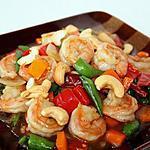 recette crevettes et noix de cajou façon sichuan