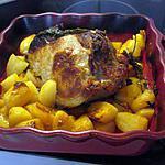 recette Rôti de épaule veau avec des pommes de terre