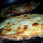 recette Echine de porc gratiné à la moutarde provençale et mozzarella