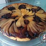 recette Gâteau renversé poires-chocolat
