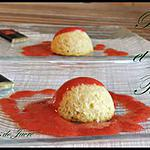 recette timbales de riz à la fève tonka