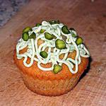 Cupcakes méduses, figues et pistaches