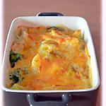 recette Gratin de pâtes au brocoli et cheddar