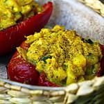 recette Poivrons farcis façon poisson à l'indienne