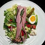 recette Roulades de jambon au thon, œuf dur et mayonnaise