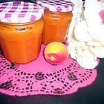 recette Confiture d'abricot-coco-amande