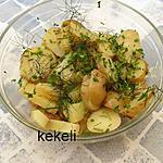 recette Salade de pommes de terre primeur aux herbes aromatiques
