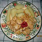 """recette émincé de poulet en """" chinoiserie """""""