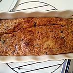 recette Cake thon/champignons/comté