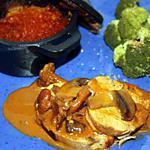 recette Rôti de dinde au vinaigre balsamique et aux champignons