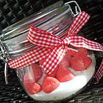 recette Bocaux de riz au lait au fraise Tagada ® *Cadeau gourmand*