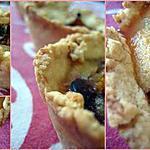 recette Tartelettes gâteaux aux quetsches