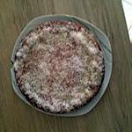 recette gateau aux framboises, coco, saveur fraise et son nappage chocolat blanc