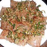 recette Hampes de boeuf aux échalotes et aux herbes