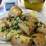 recette Pommes de terre primeur à la fleur de sel