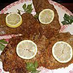 recette Escalopes de veau panées a la chapelure aromatisée