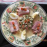 recette minis-rouleaux farcis à la macédoine