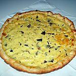 recette Quiche champignons/boursin ail et fines herbes