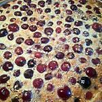 recette Tarte aux cerises et au Pralin