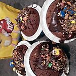 recette Petit cake au M&M