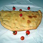 recette Chausson bleu/St nectaire/tomates