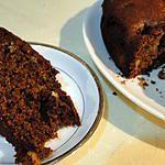 recette Gâteau aux pêches et aux noix