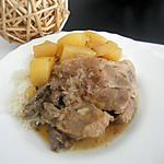 recette Côtes de porc en râgout